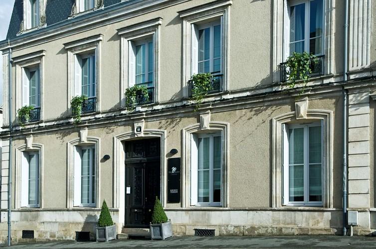 """L'Hôtel Particulier """"La Chamoiserie"""" à Niort"""