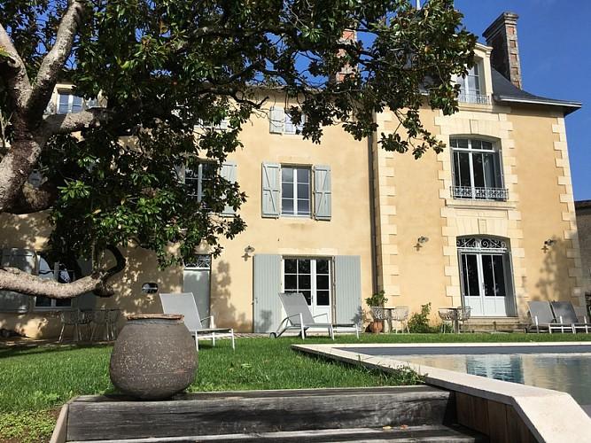"""L'hôtel """"Les Demeures de Valette"""" à Azay-le-Brûlé"""