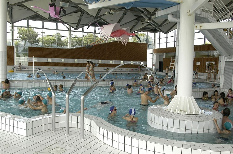 Le centre aquatique des Fraignes à Chauray