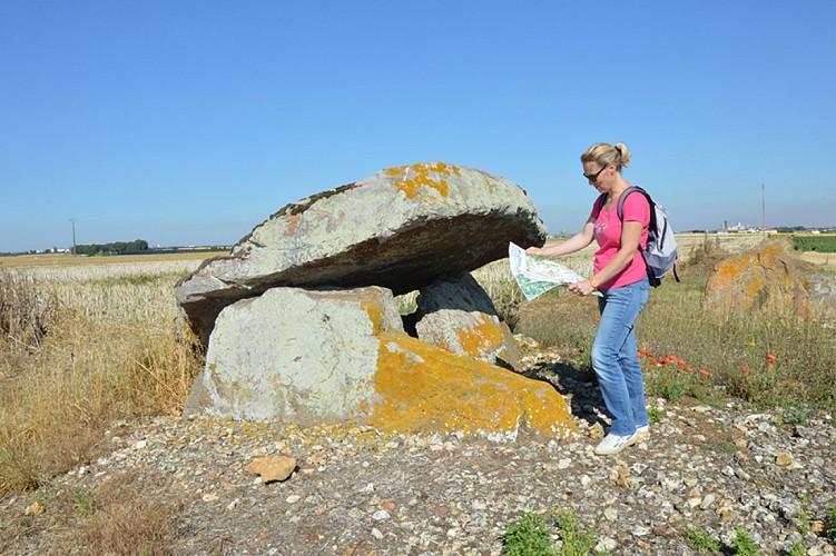 dolmen de puyraveau mégalithe patrimoine St léger de montbrun Thouars Thouarsais Nouvelle Aquitaine compresse1.JPG_1