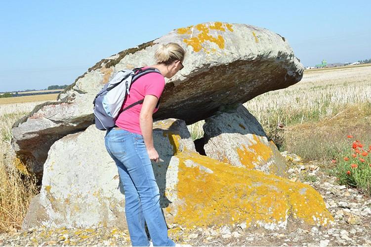 dolmen de puyraveau mégalithe patrimoine St léger de montbrun Thouars Thouarsais Nouvelle Aquitaine compresse2.JPG_2