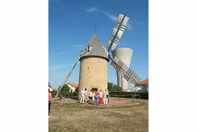 Moulin de Vrines patrimoine Sainte Radegonde Thouars Thouarsais