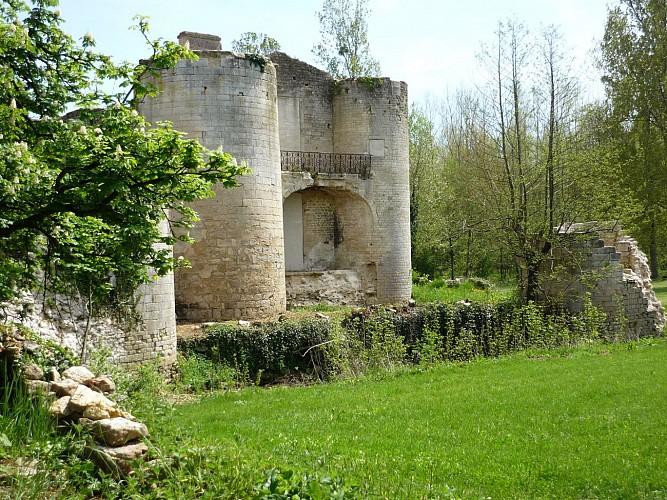 Le château de Mursay à Echiré