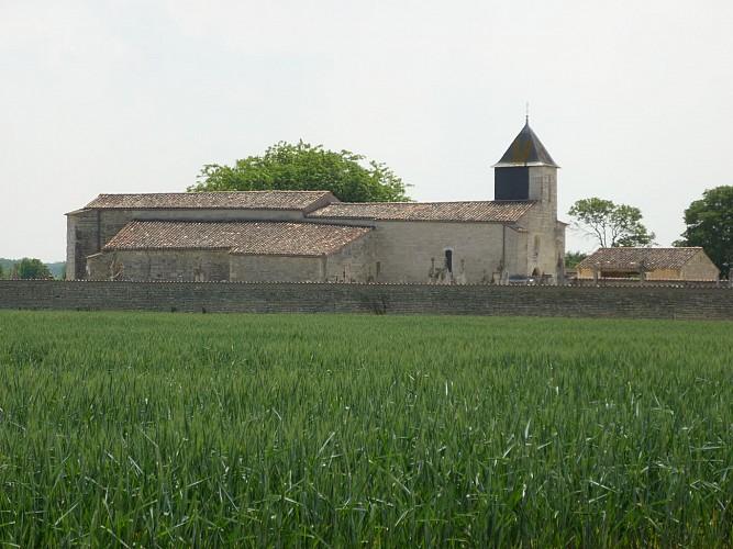 L'église Notre-Dame de Dey à Prin-Deyrançon