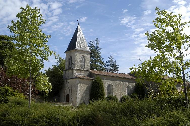 L'église Notre-Dame de Vallans