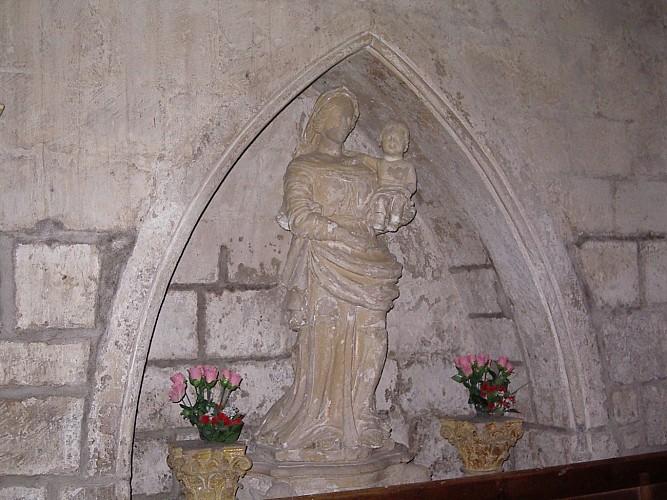 Vierge église Saint Etienne Coulonges-sur-l'Autize© mairie de Coulonges-sur-l'Autize.JPG (1).JPG_2