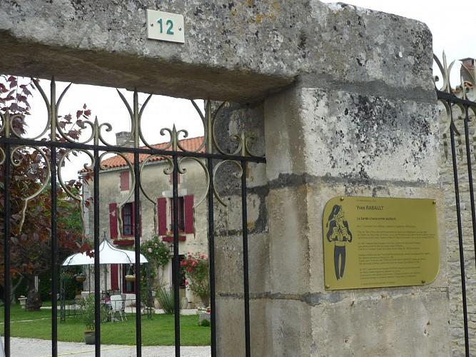 La maison natale d'Yves Rabault