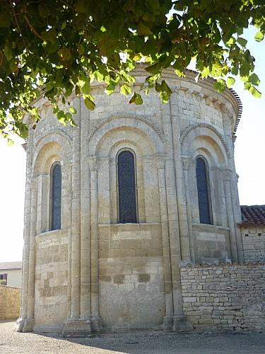 L'église Saint-Etienne-la-Cigogne