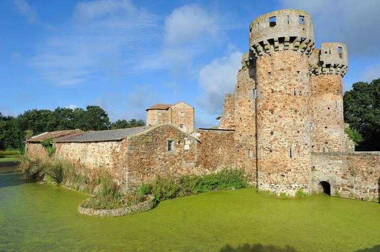 douves du château de sanzay