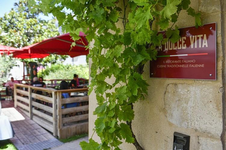 "Le restaurant ""La Dolce Vita"" à Niort"