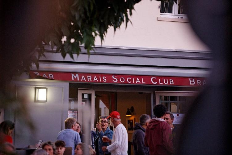 """Le bar-brasserie """"Marais Social Club"""" à Coulon"""