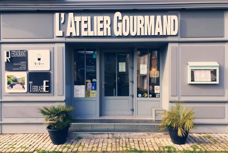 """Le restaurant """"L'Atelier Gourmand"""" à Coulon"""
