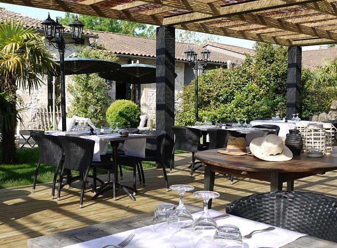 """Le restaurant """"Domaine de la Tuilerie"""" à Bessines"""