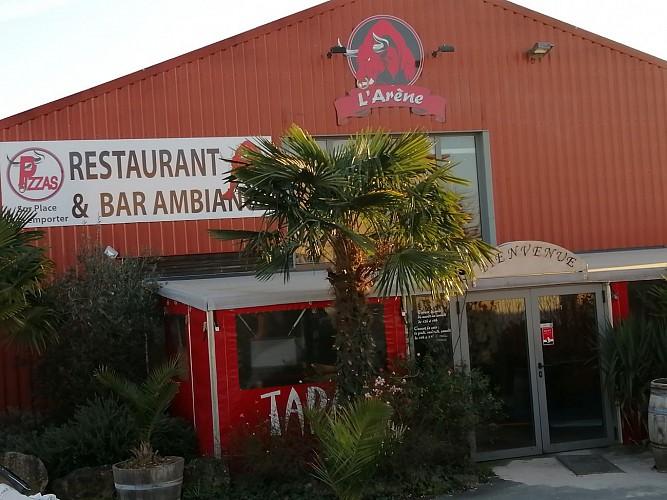 """Le restaurant-pizerria-bar à ambiance """"L'Arène"""" à Niort"""