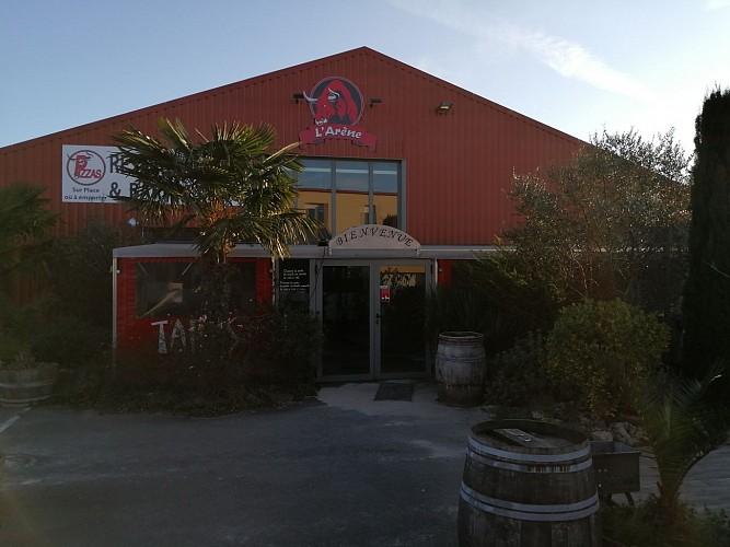 Le restaurant-pizerria-bar à ambiance