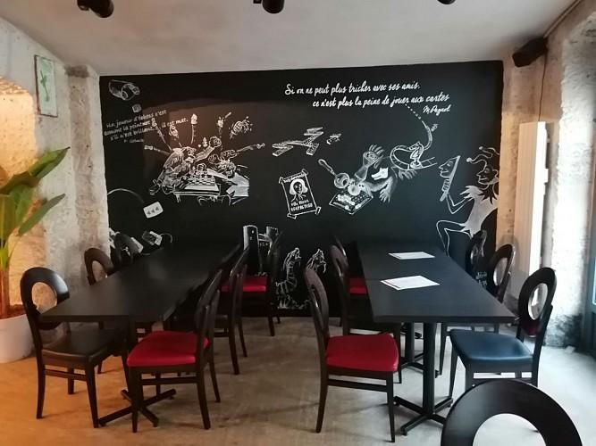 La fresque du bar