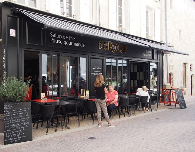 """Le restaurant """"Le Bistroquet"""" à Niort"""