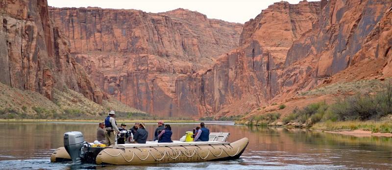 Rafting paisible sur le Colorado à Glen Canyon et Horseshoe Bend - Demi-journée au départ de Page