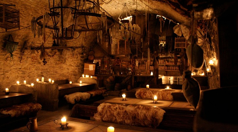Medieval dinner in a tavern in the heart of Prague