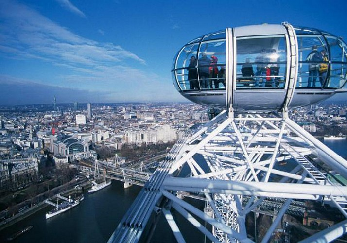 Skip-the-line London Eye ticket - With a guide