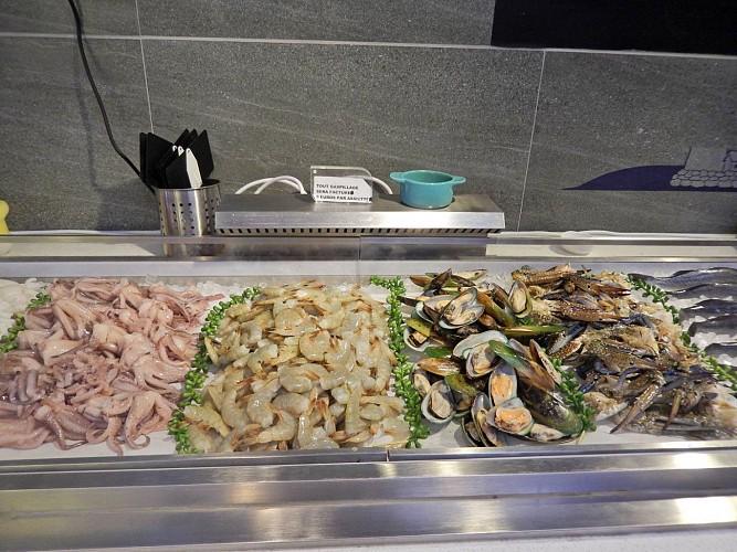 Restaurant Planète Délices - Lescar - fruits de mer