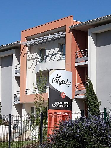 La façade du Citylodge
