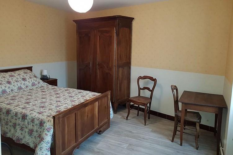 Chambre 1 Meublé Gite de la Motte Germond Bouillé Saint Varent