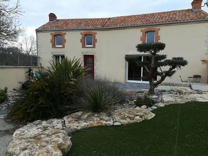 Exterieur Domaine de la Roche Luzay Thouarsais