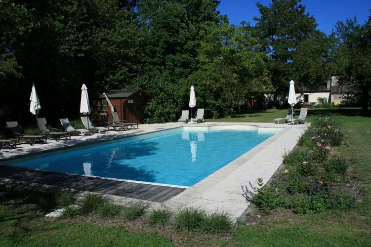 Jardin Meublé de tourisme Scott-Smith Bouille-Loretz Thouarsais