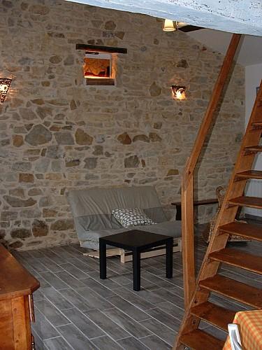 Salon meublé de Tourisme Gîte du Champ fleury croisé glénay Thouarsais