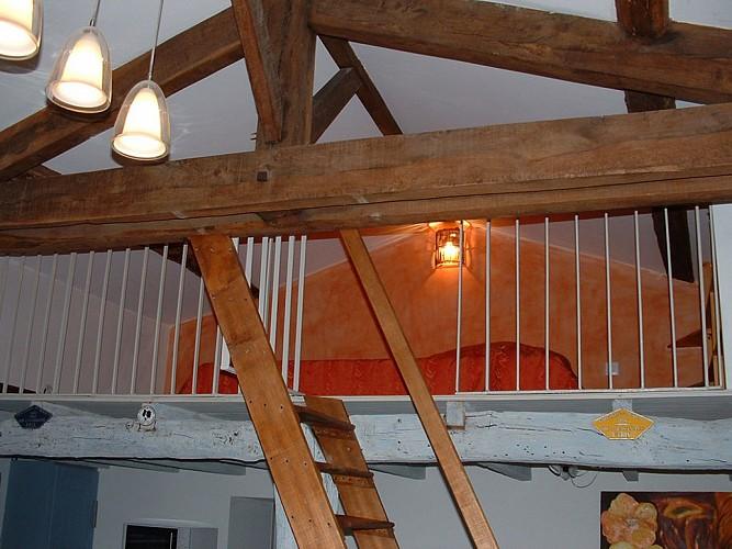 Mezzanine meublé de Tourisme Gîte du Champ fleury croisé glénay Thouarsais