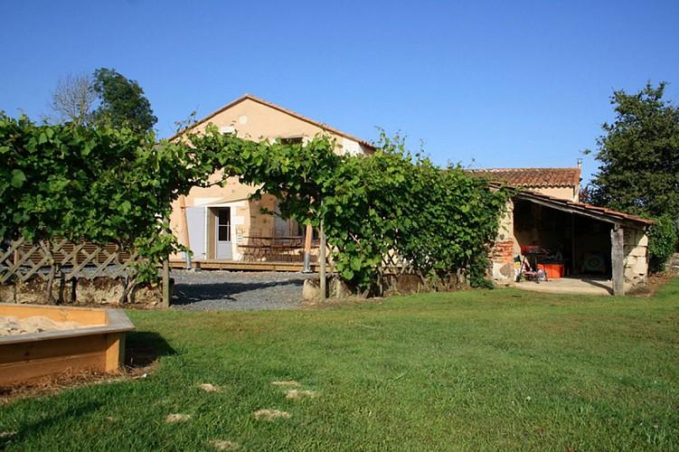 Extérieur meublé Fouquerelle jolivet St pierre à champ val en vignes Thouarsais