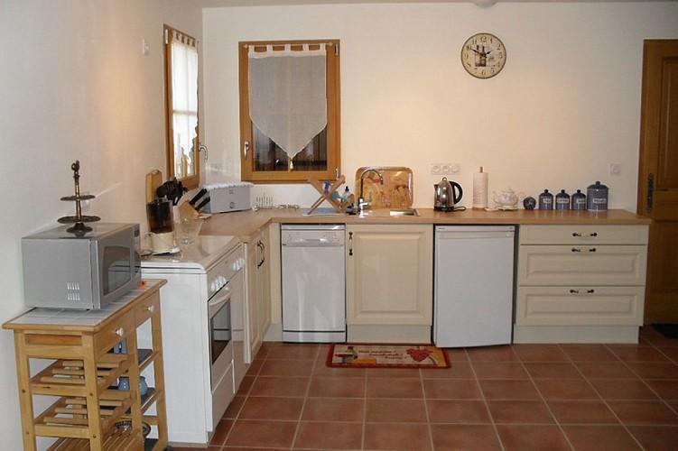 Cuisine meuble l'ecurie Denby St Pierre a champ Val en Vignes Thouarsais