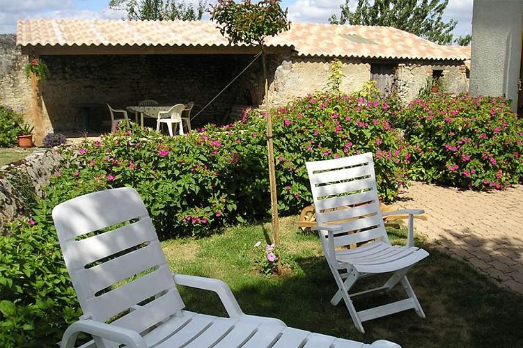 Jardin Gite de Monteil Jaulin St Généroux