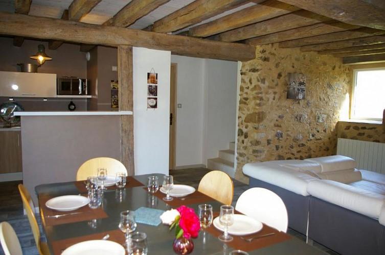 Cuisine 2 Le Fournil du Logis des Baillargeres Coulonges-Thouarsais