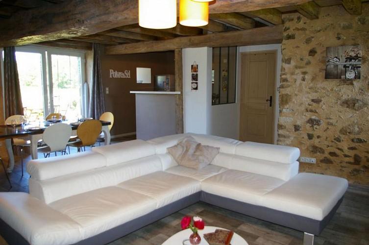 Salon Le Fournil du Logis des Baillargeres Coulonges-Thouarsais