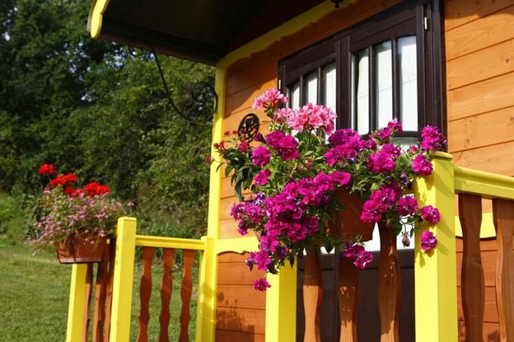 Cottages Pgd roulotte 1