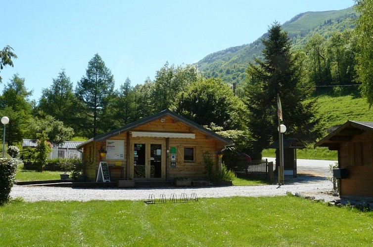 Camping le Rey photo emplacement 2017 accueil