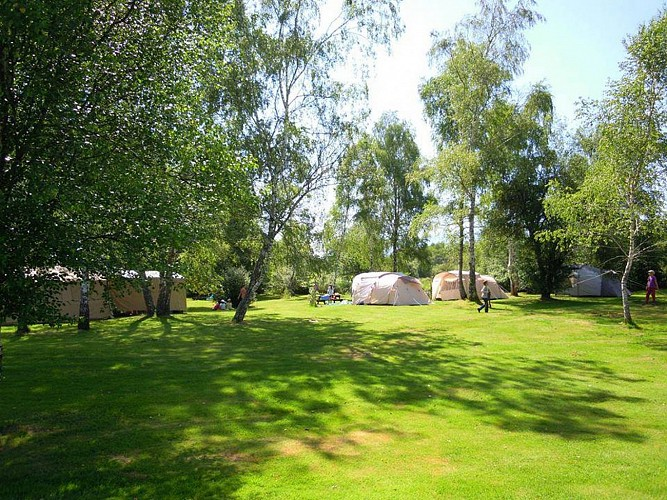 Camping les jardins d'ossau photo emplacement 5