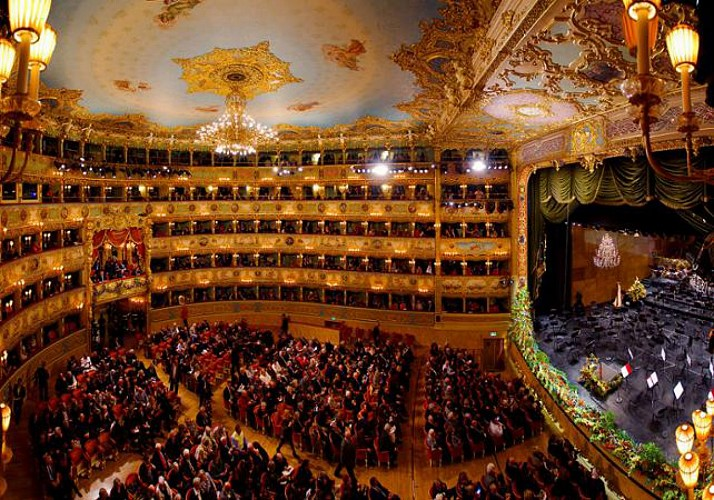 "The ""La Fenice"" opera house in Venice guided visit"