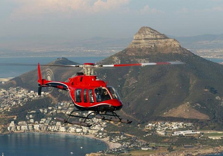 Helicopter Flight over Cape Town and Good Hope (40 minutes)