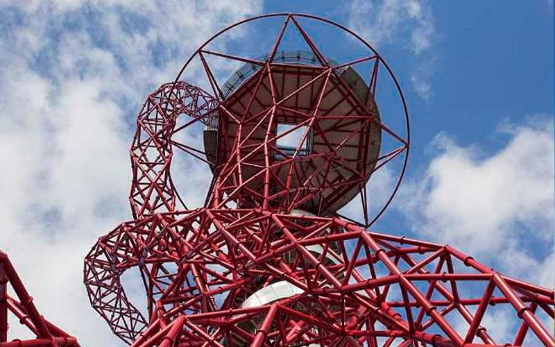 ArcelorMittal Orbit Skyline Views with The Slide