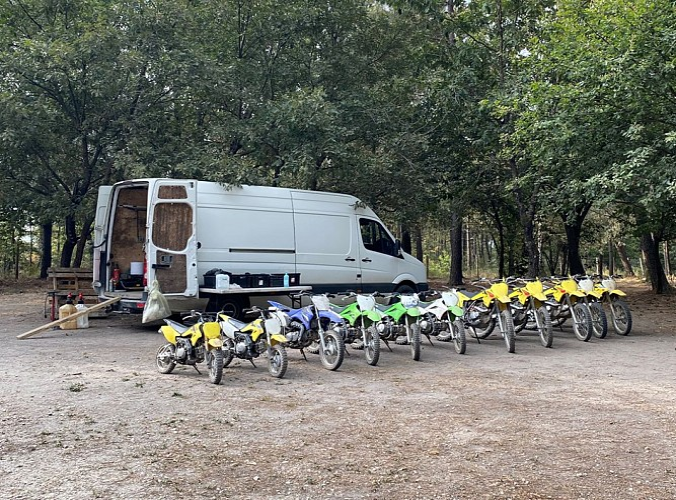 Moto cross Ride-on Chantérac G.Rousseau
