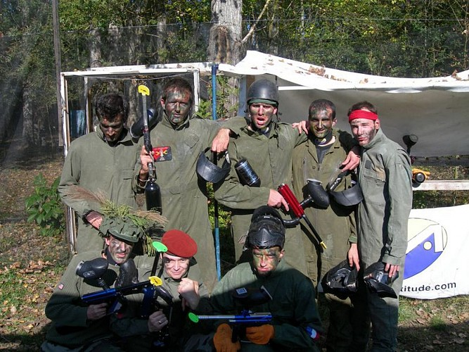 Planet Paint Ball