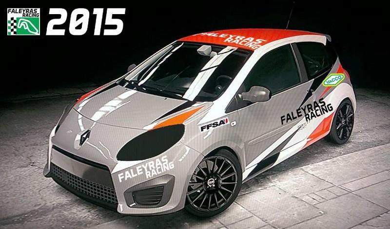 Circuit Faleyras twingo R1 Rallycross