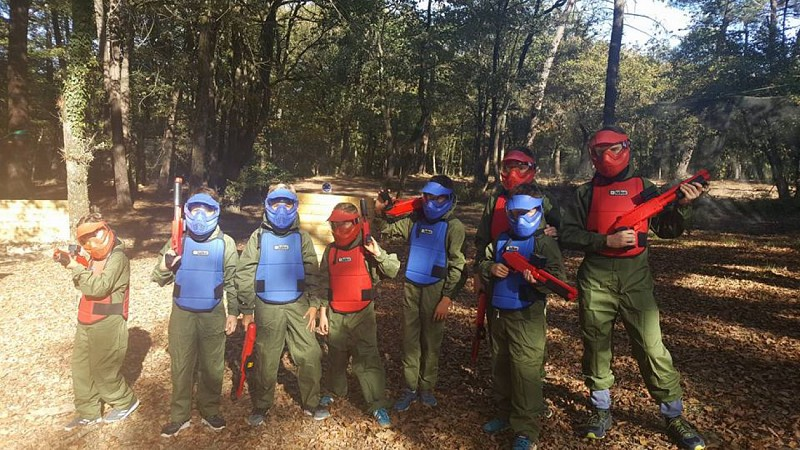 Faleyras Paintball enfants
