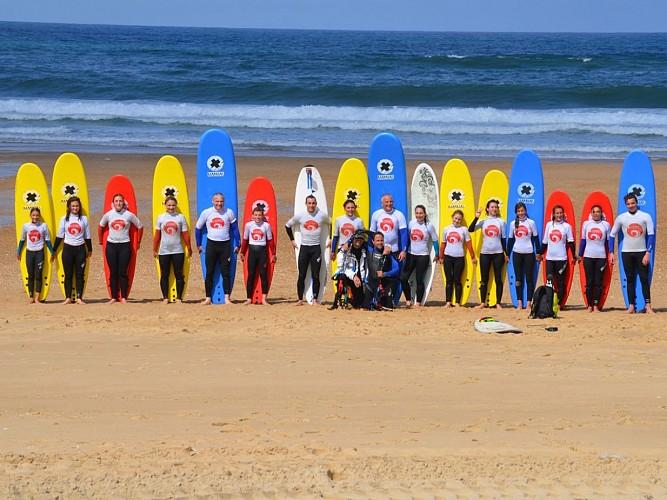 Bourdaines surf school