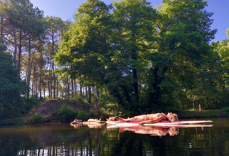 Azur-Supland-Stand-up-paddle-Landes