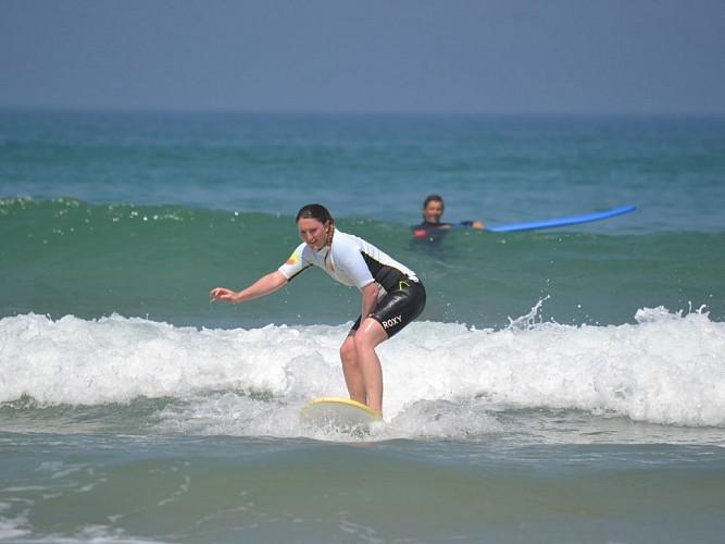 Ecole de surf des bourdaines 2018