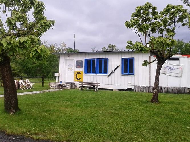 Aérodrome - Piste (Aéroclub Oloron-Herrère)